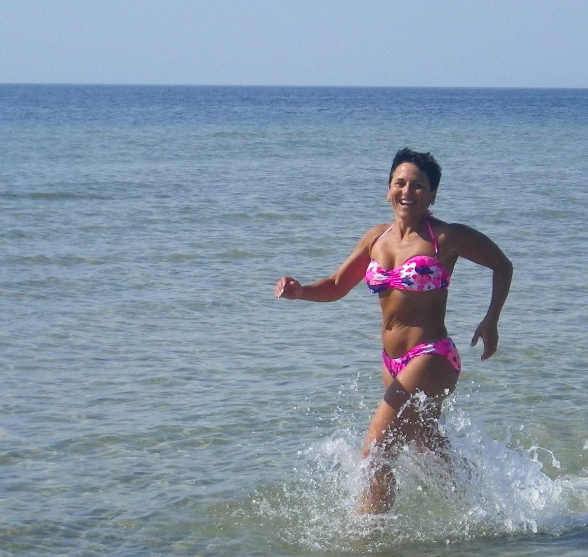 springa i vatten